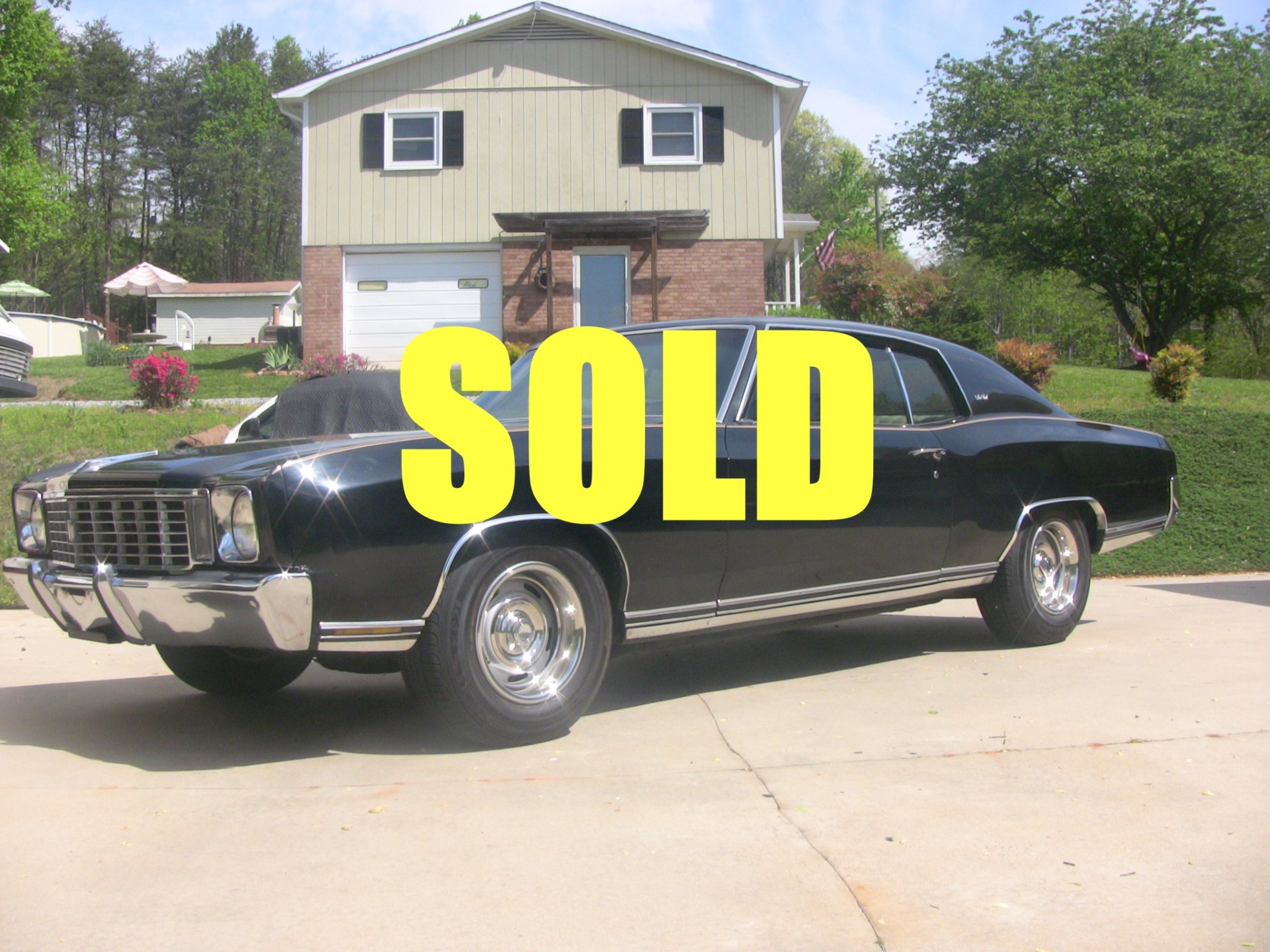 Used 1972 Chevrolet Monte Carlo  61 , For Sale $10900, Call Us: (704) 996-3735