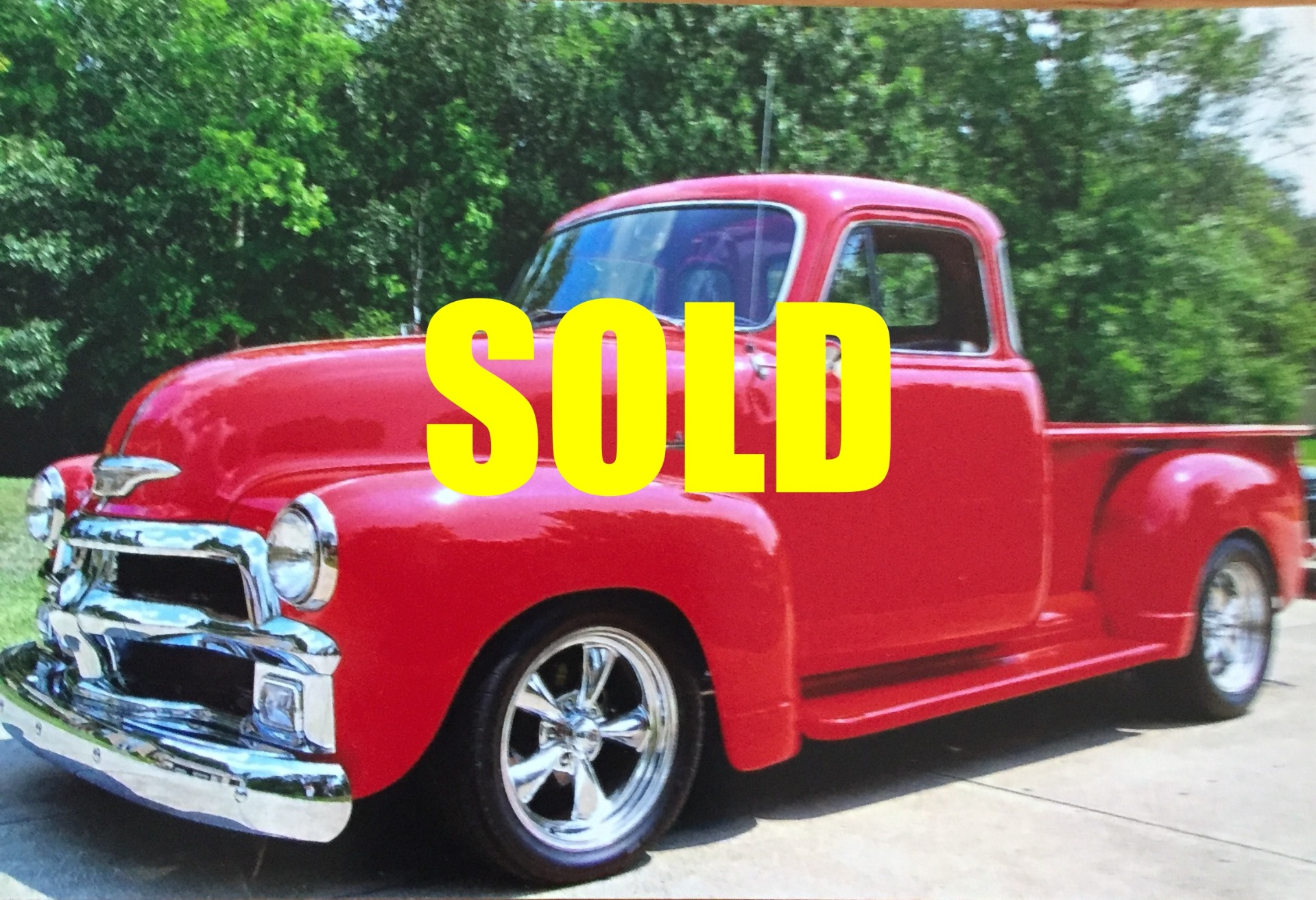 Used 1954 Chevrolet Half Ton  75 , For Sale $42500, Call Us: (704) 996-3735
