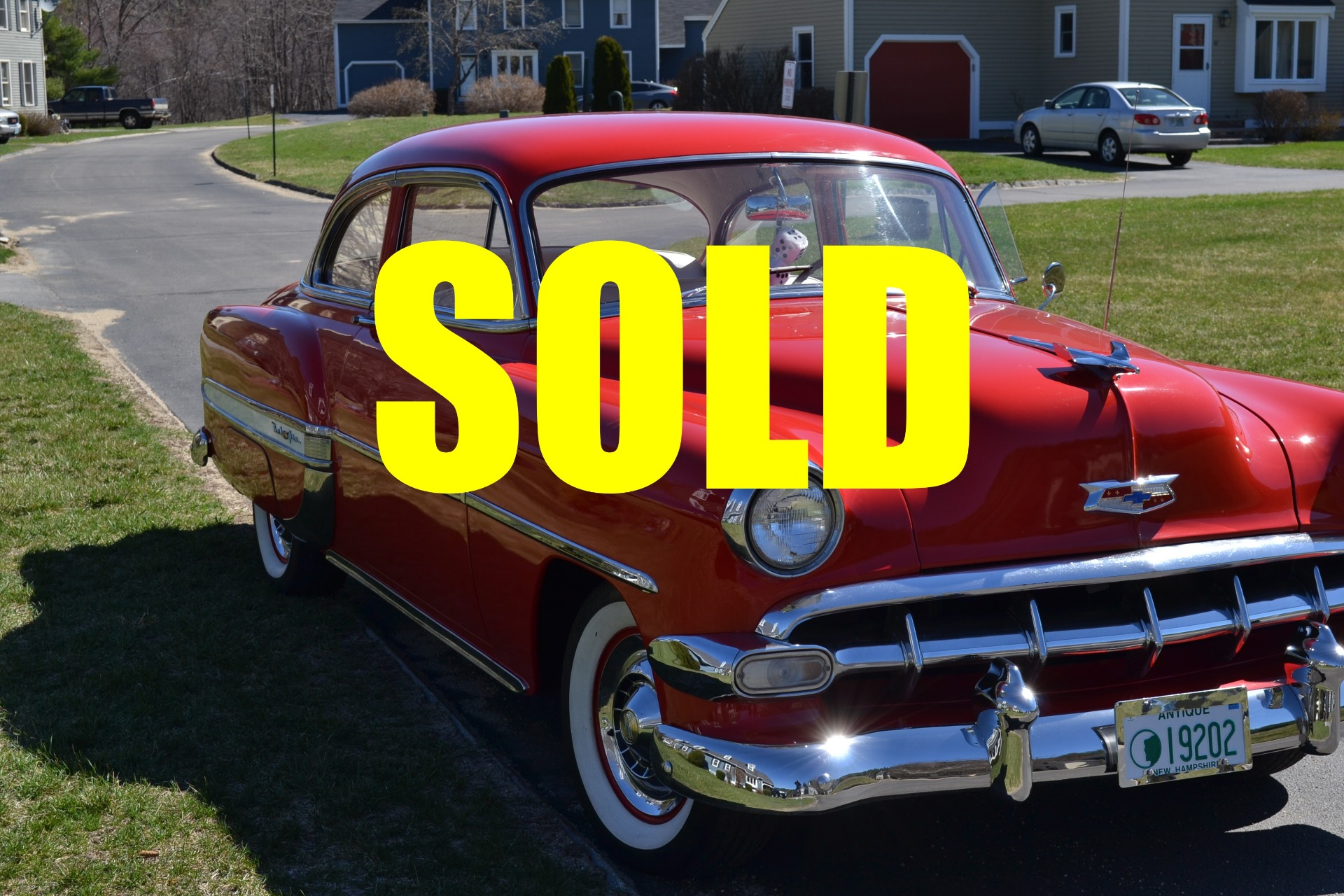 Used 1954 Chevrolet Bel Air  77 , For Sale $17900, Call Us: (704) 996-3735