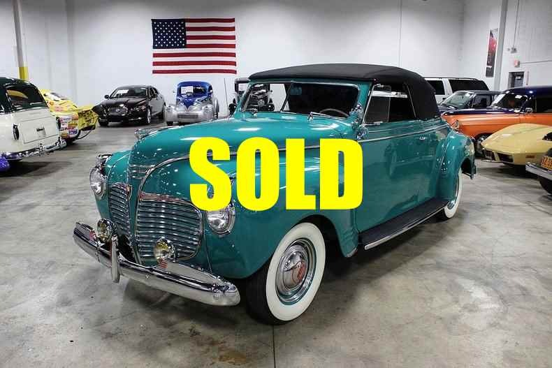 Used 1941 Plymouth P12 Special Deluxe  78 , For Sale $36800, Call Us: (704) 996-3735