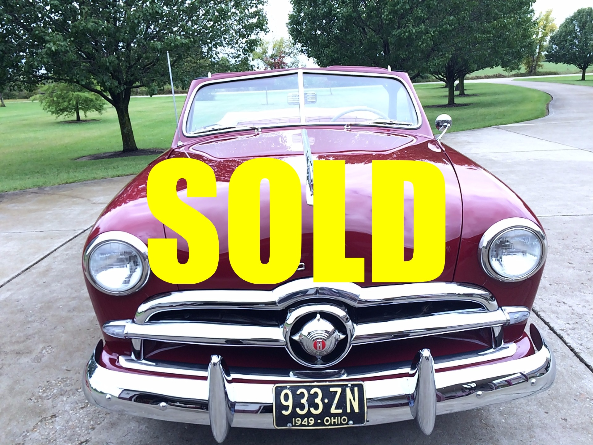 Used 1949 Ford Deluxe Convertible For Sale 44 000 Classic Lady Motors Stock A186