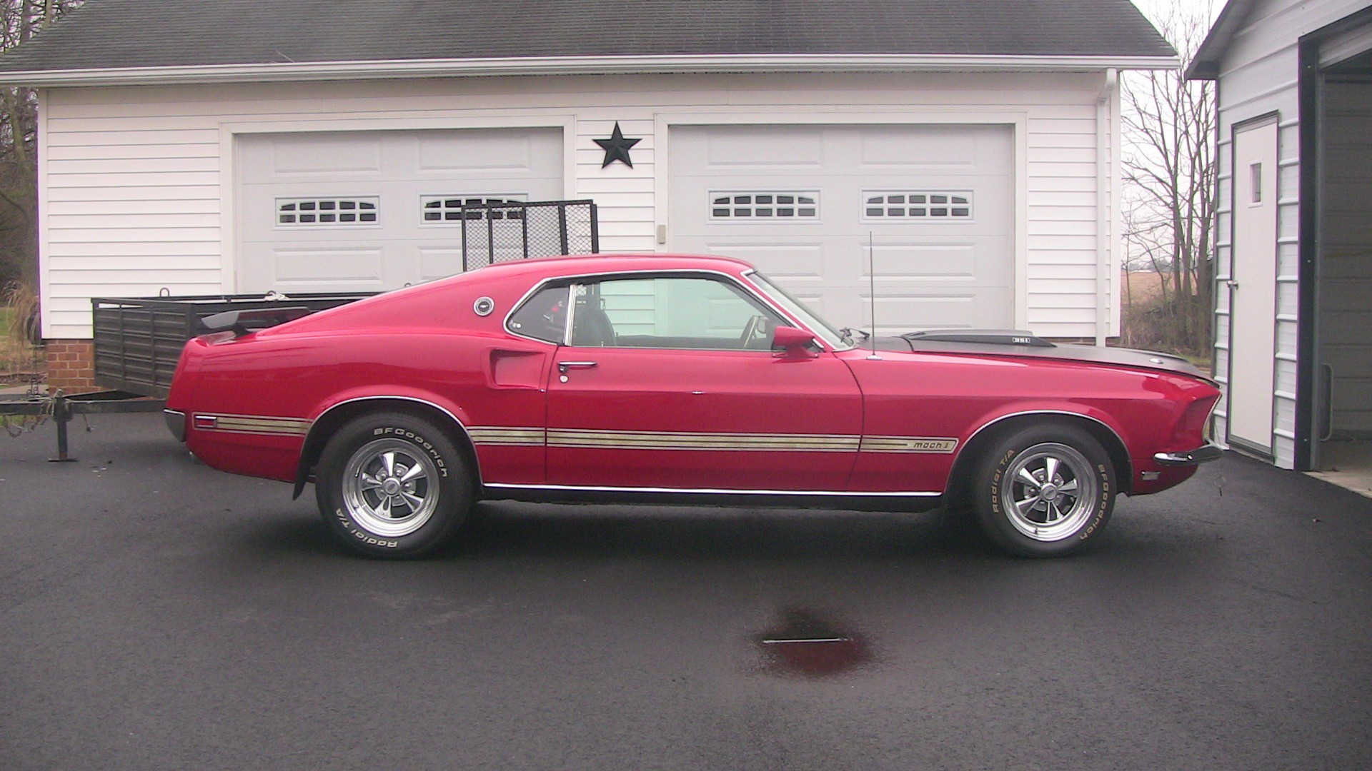 Used 1969 Ford Mustang Mach I