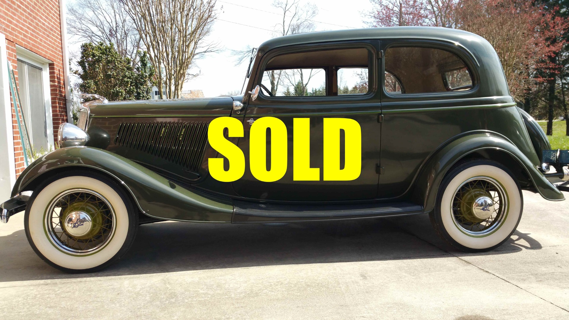 Used 1934 Ford Victoria  87 , For Sale $56000, Call Us: (704) 996-3735