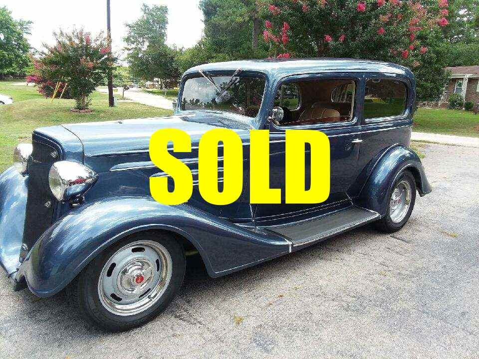 Used 1934 Chevrolet Slantback  90 , For Sale $42900, Call Us: (704) 996-3735