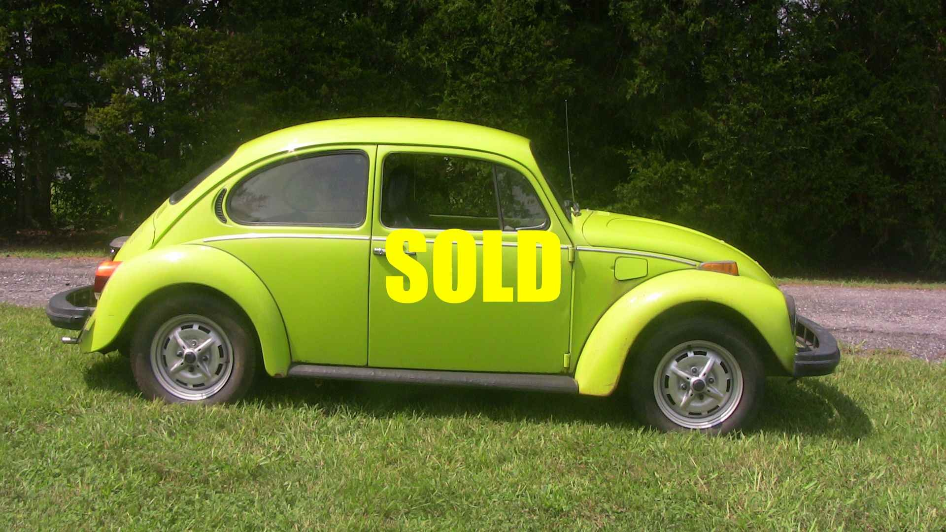 Used 1974 Volkswagen Beetle Love Bug For Sale 5 500 Classic Lady Motors Stock A213
