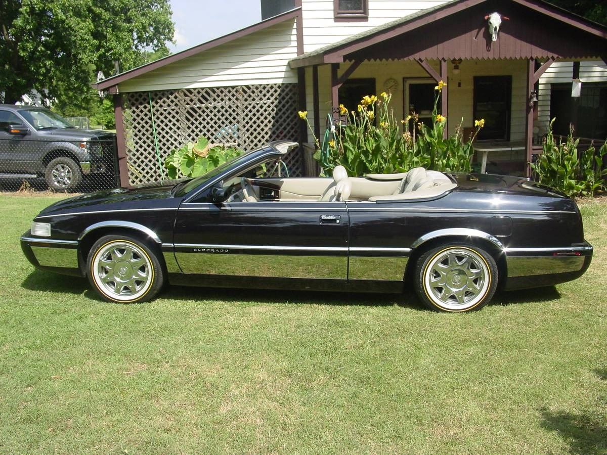 used 1996 cadillac eldorado convertible for sale 12 000 classic lady motors stock b111 used 1996 cadillac eldorado convertible