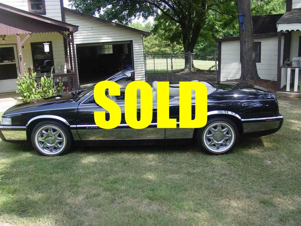 Used 1996 Cadillac Eldorado Convertible  98 , For Sale $12000, Call Us: (704) 996-3735